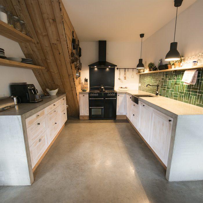 Betonnen keukenblad Lennisheuvel